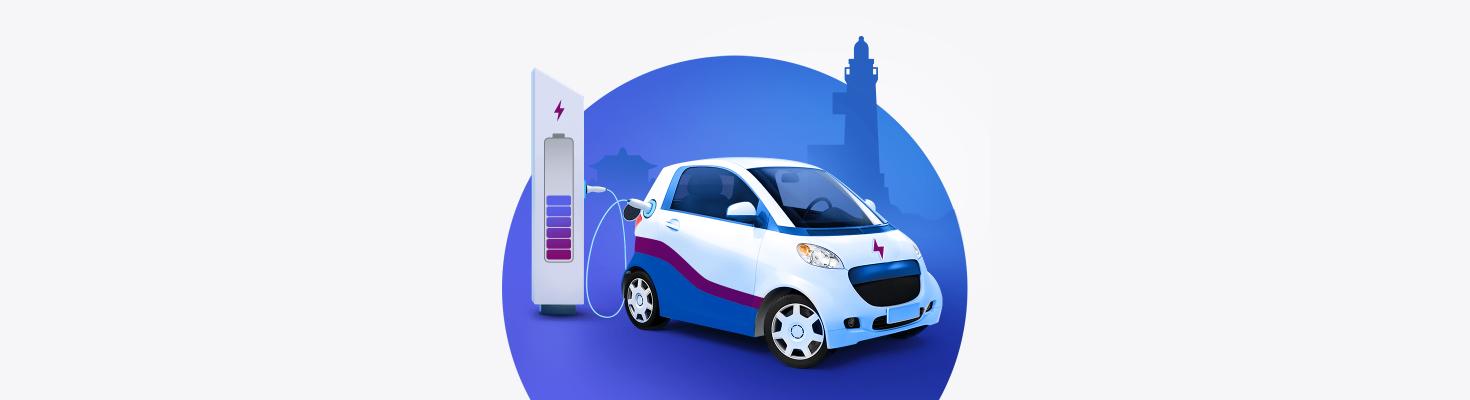 Кредит на покупку электромобиля на Сахалине